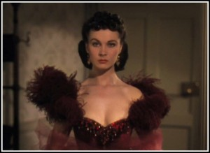 Vivien Leigh in Gone With The Wind, MGM (1939.)