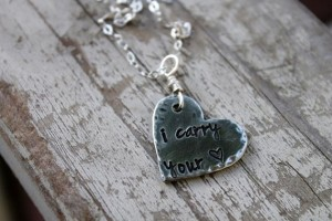 carry your heart necklace