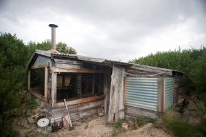 A real Tassie shack! A bit more rustic than Eva's