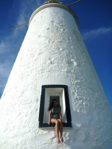 The Cape Bruny lighthouse inspried the scene where Callie takes Eva to visit a lighthouse on Eva's wedding anniversary
