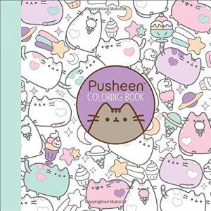 pusheencolouringbook