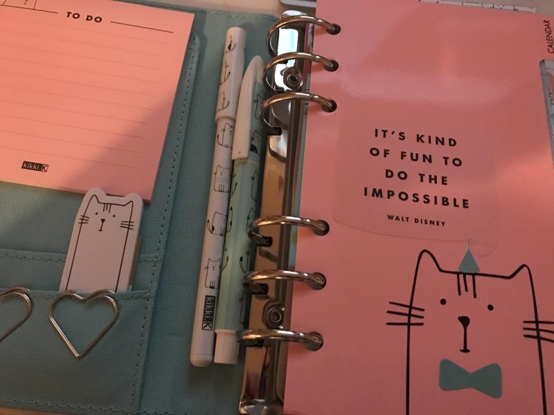 Kikki K Vanskap journal