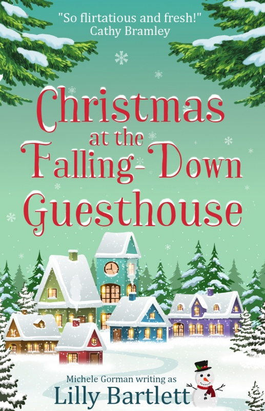 Christmas at the Falling Down Guesthouse cover