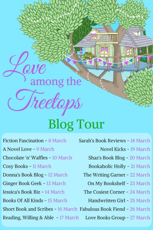 Love Among the Treetops - Blog Tour