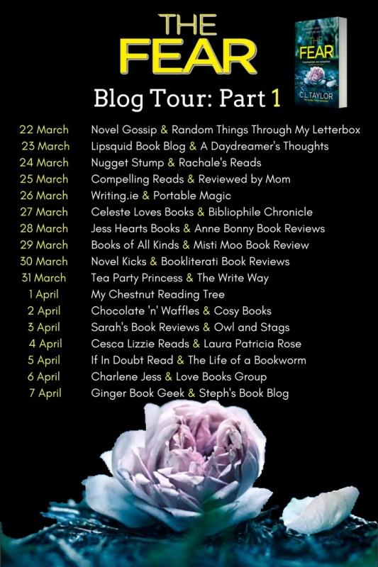 The Fear - Blog Tour Banner - Part 1