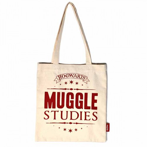 Harry-Potter-Muggle-Studies-Cotton-Tote-Bag-Shopper-Half-Moon-Bay