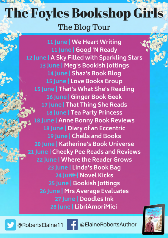 The Foyles Bookshop Girls blog tour banner_preview