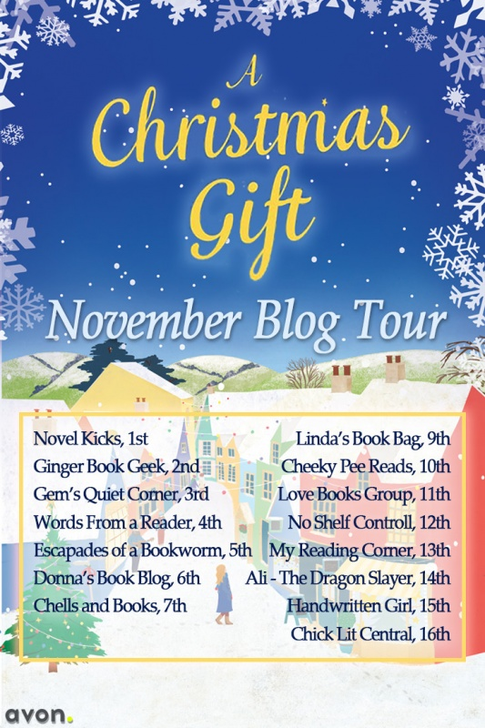 A Christmas Gift Blog Tour - Nov