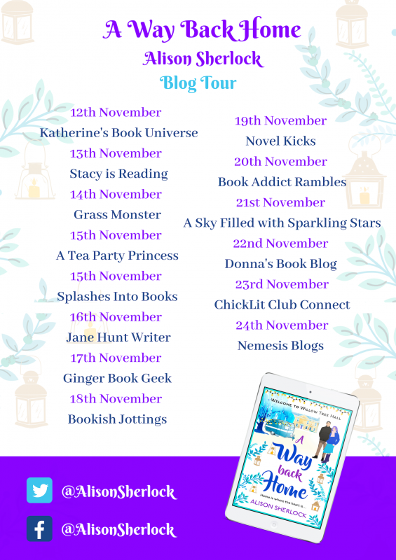 A Way Back Home blog tour poster (2)