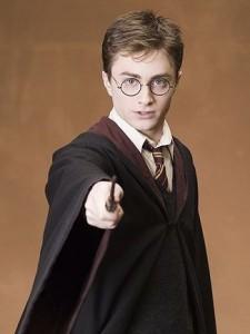 Daniel Radcliffe as Harry Potter, Heyday Films, Warner Bros and JK Rowling