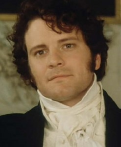Colin Firth as Mr Darcy. BBC.