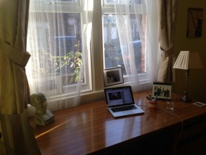 Guy's Writing Space