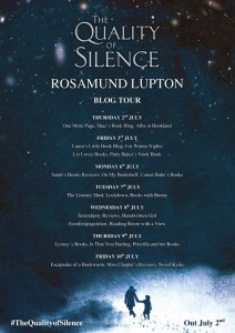 The Quality of Silence blog tour poster