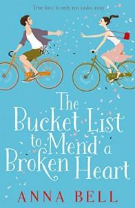 Bucket List to mend a broken heart, Anna Bell