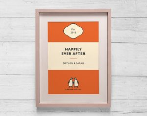 Personalised Penguin Book Cover