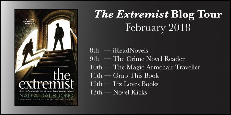 The Extremist Blog Tour banner