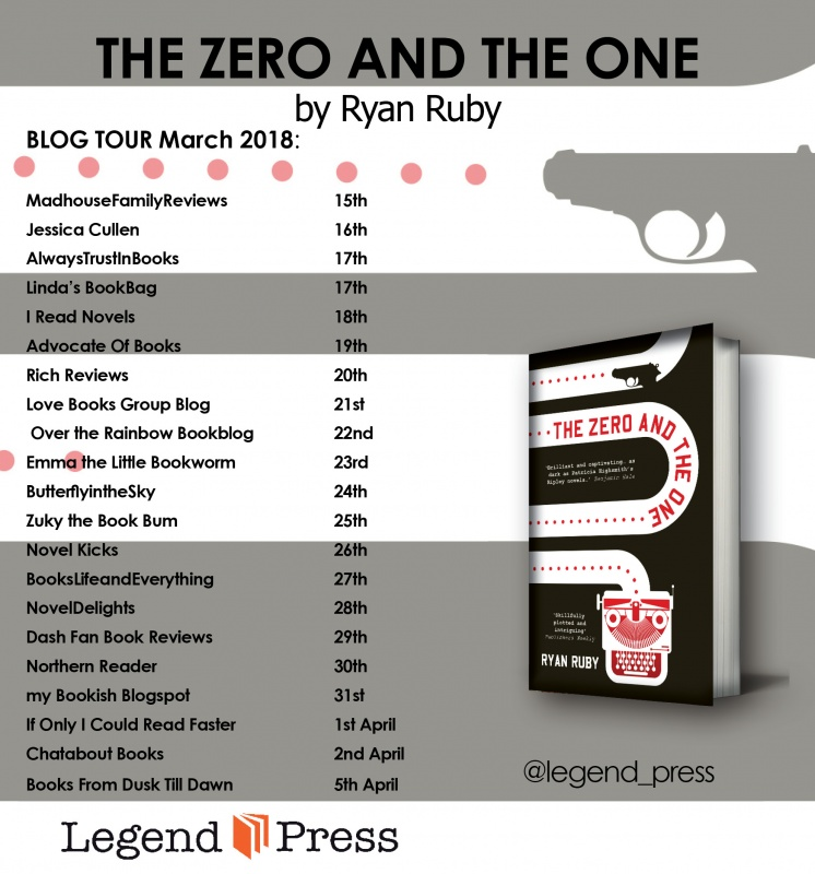 zero and the one Blog Tour Banner jpeg