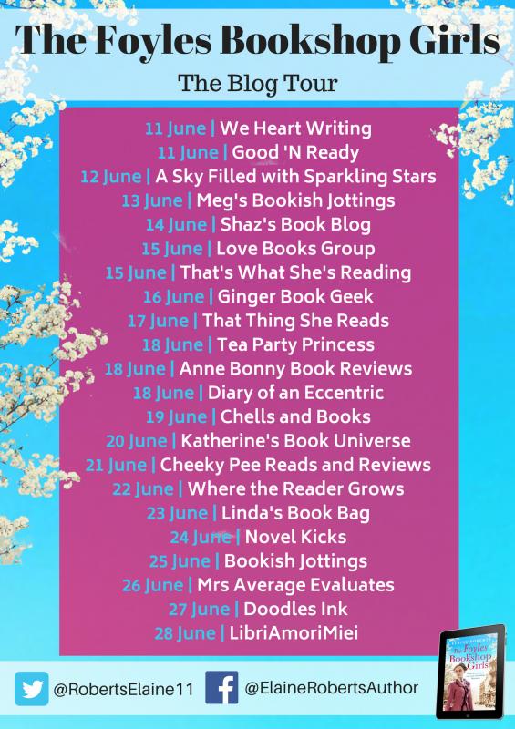 The Foyles Bookshop Girls blog tour banner_preview
