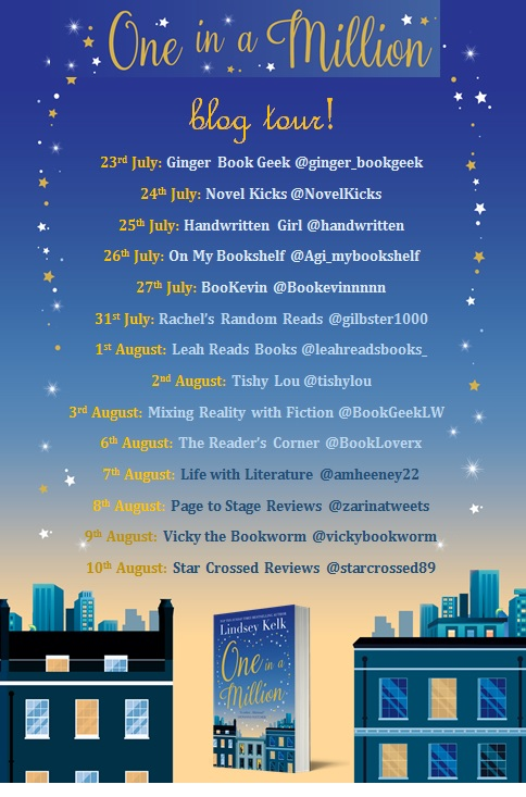 One in a Million blog tour banner
