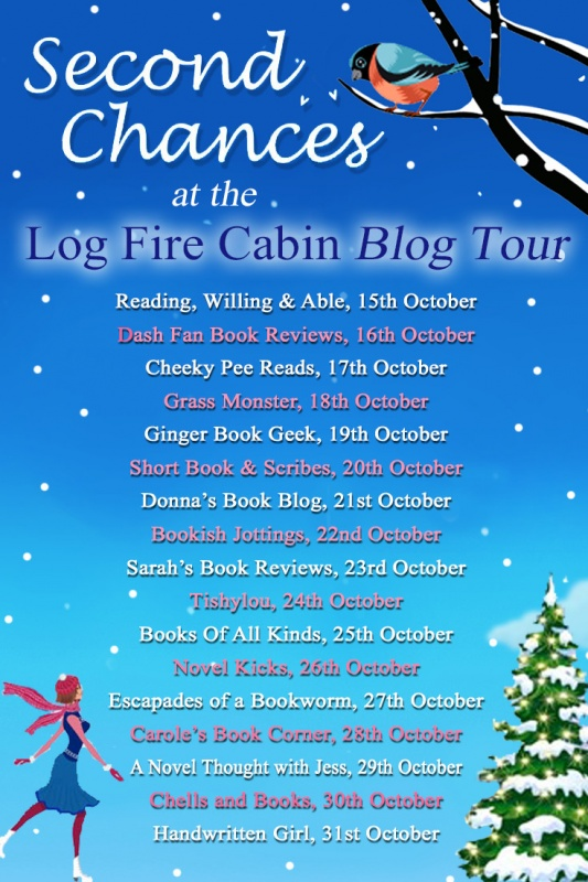 Christmas at the Log Fire Cabin Blog Tour