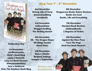 Christmas with the East End Angels Full Tour Banner